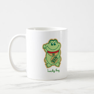 Lucky Frog Coffee Mug