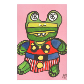 Lucky Frog Stationery Design