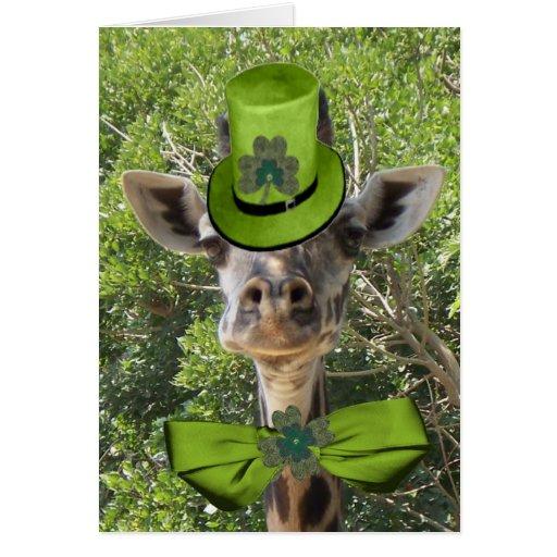 Lucky Giraffe Cards