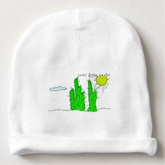Lucky Green Cactus Doodle Baby / Toddler Beanie Baby Beanie