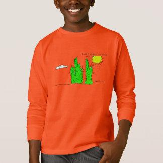 Lucky Green Cactus Doodle Funky Sweatshirt