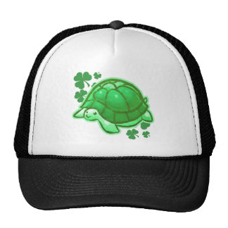 R Turtles Lucky Lucky Green Clover Turtles Cap