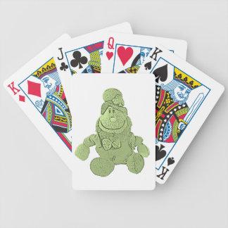 Lucky Green Leprechaun Poker Deck