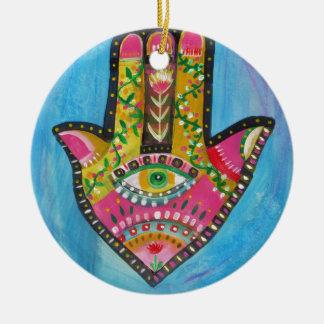 Lucky Hamsa Hand Christmas Ornament