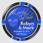 Lucky in Love Vegas Newlyweds Casino Chip