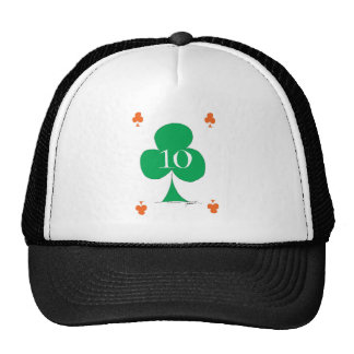 Lucky Irish 10 of Clubs, tony fernandes Cap