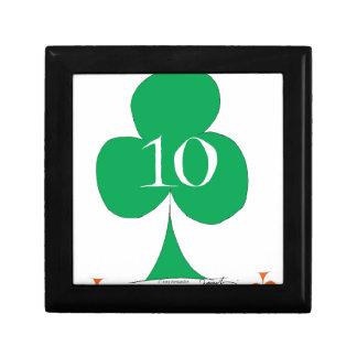 Lucky Irish 10 of Clubs, tony fernandes Gift Box