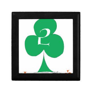 Lucky Irish 2 of Clubs, tony fernandes Gift Box
