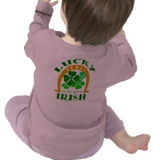 Lucky Irish 2-Sided Infant Longsleeve Tshirts
