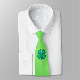 Lucky Irish 4 Leaf Clover 2 tie