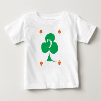 Lucky Irish 5 of Clubs, tony fernandes Baby T-Shirt