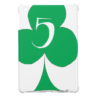 Lucky Irish 5 of Clubs, tony fernandes Cover For The iPad Mini