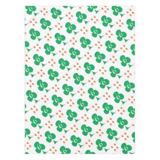 Lucky Irish 6 of Clubs, tony fernandes Tablecloth
