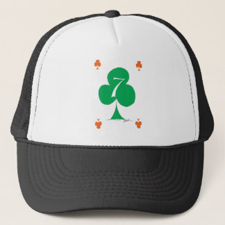 Lucky Irish 7 of Clubs, tony fernandes Trucker Hat
