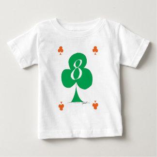 Lucky Irish 8 of Clubs, tony fernandes Baby T-Shirt