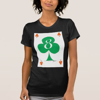 Lucky Irish 8 of Clubs, tony fernandes T-Shirt