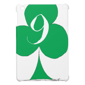 Lucky Irish 9 of Clubs, tony fernandes iPad Mini Cover