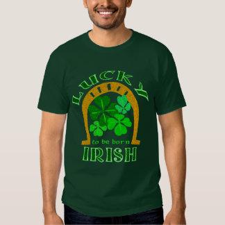 Lucky Irish Dark Shirts