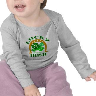 Lucky Irish Infant Longsleeve Tee Shirts