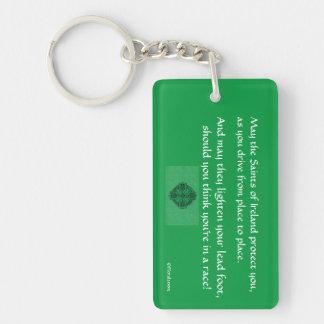 Lucky Irish Key Chain