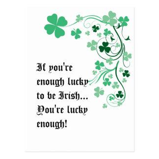 Lucky Irish Postcard