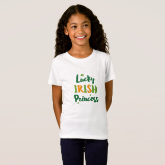 Lucky Irish Princess girl T-shirt