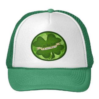 Lucky  Irish Pub St. Patrick's Day Hat / Cap