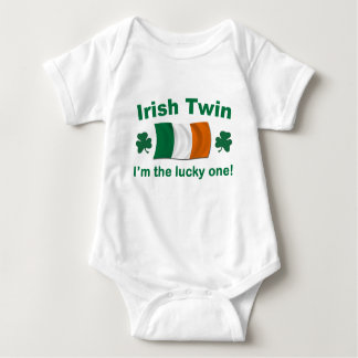 Lucky Irish Twin Baby Bodysuit
