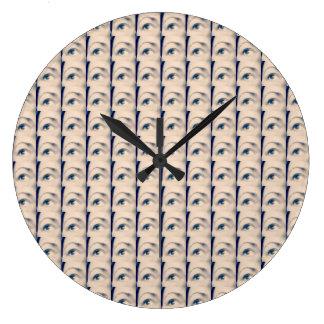 lucky karma brand large clock