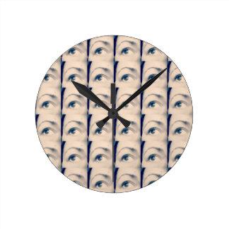 lucky karma brand wall clock
