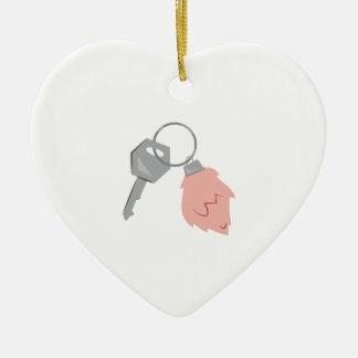 Lucky Keychain Christmas Ornament