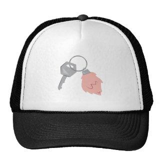 Lucky Keychain Mesh Hats