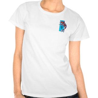 Lucky Kohaku Koi Fish T-shirt