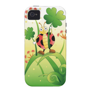 Lucky Ladybird Case-Mate iPhone 4 Cases
