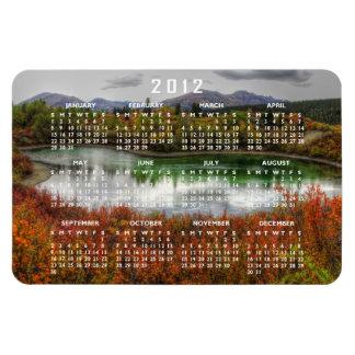 Lucky Lake; 2012 Calendar Rectangular Photo Magnet