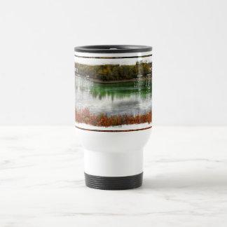 Lucky Lake; 2012 Calendar Stainless Steel Travel Mug
