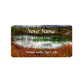 Lucky Lake Address Label