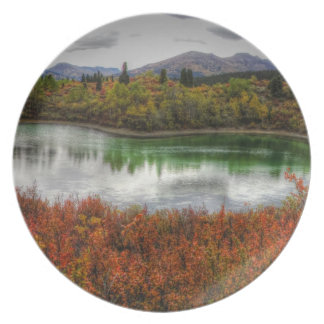 Lucky Lake Party Plate