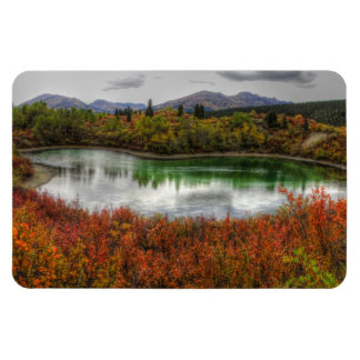 Lucky Lake Rectangular Photo Magnet
