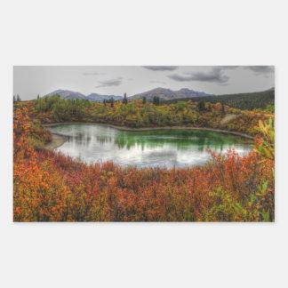 Lucky Lake Rectangular Sticker