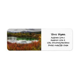 Lucky Lake Return Address Label