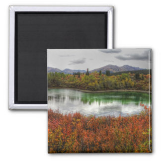 Lucky Lake Square Magnet