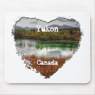 Lucky Lake; Yukon Territory Souvenir Mouse Pad