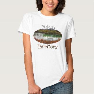 Lucky Lake; Yukon Territory Souvenir T Shirts