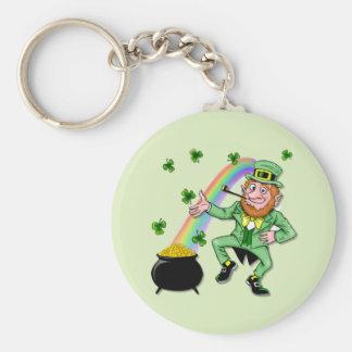 Lucky Leprechaun Key Ring