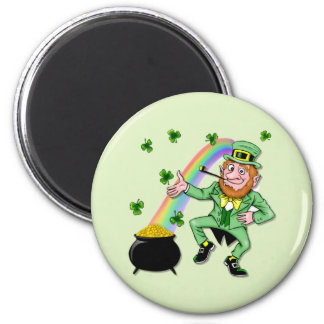 Lucky Leprechaun Magnet