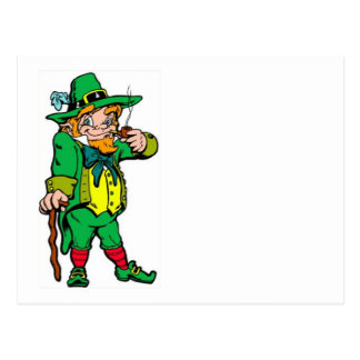Lucky Leprechaun Postcard
