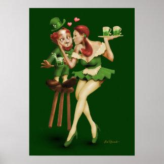 Lucky Leprechaun Poster