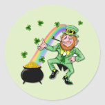 Lucky Leprechaun Sticker