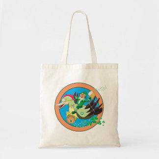 Lucky Leprechaun Budget Tote Bag